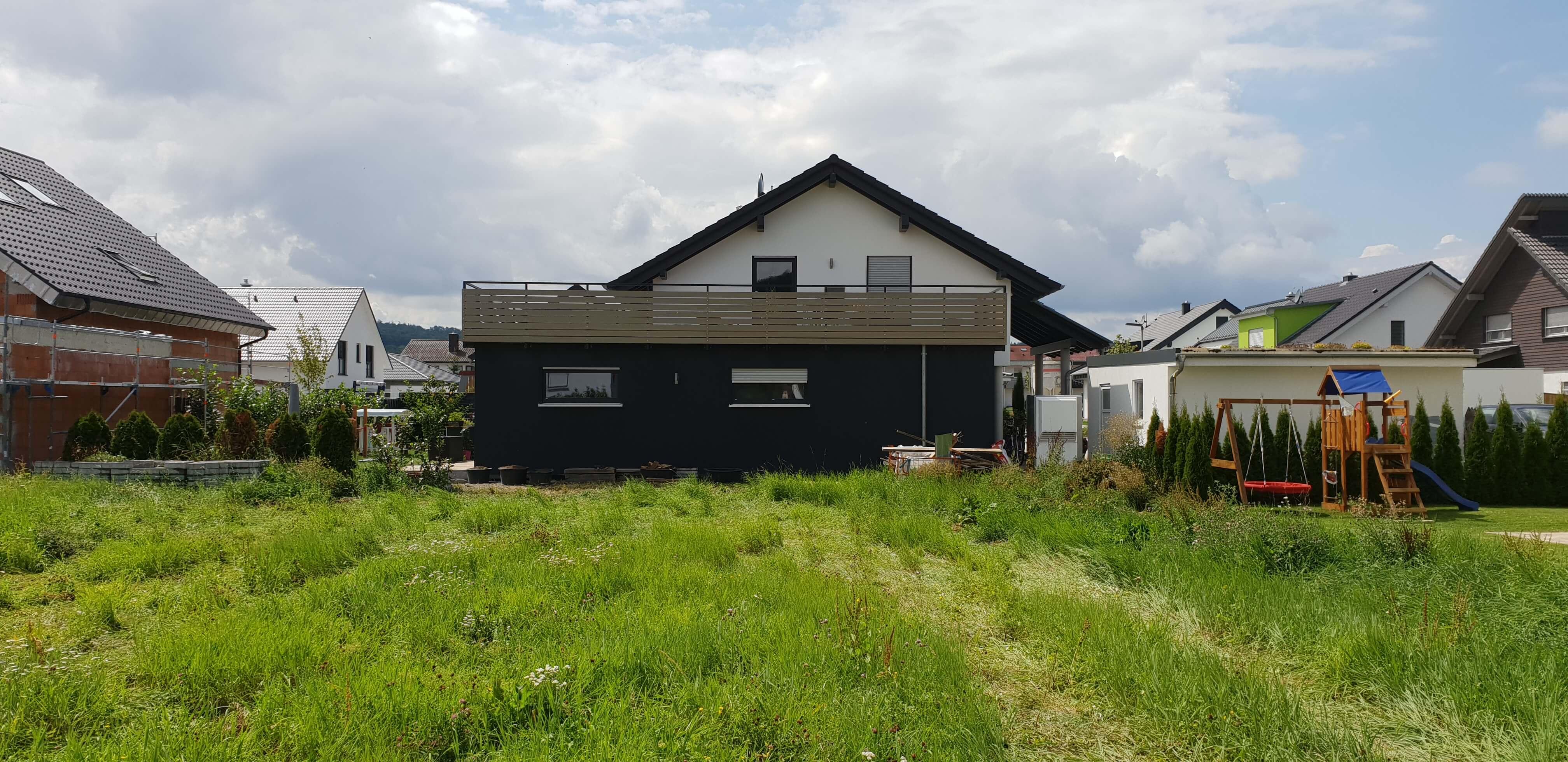 Terrassenüberdachung und Aluminiumgeländer (1) Schlosserei Schad