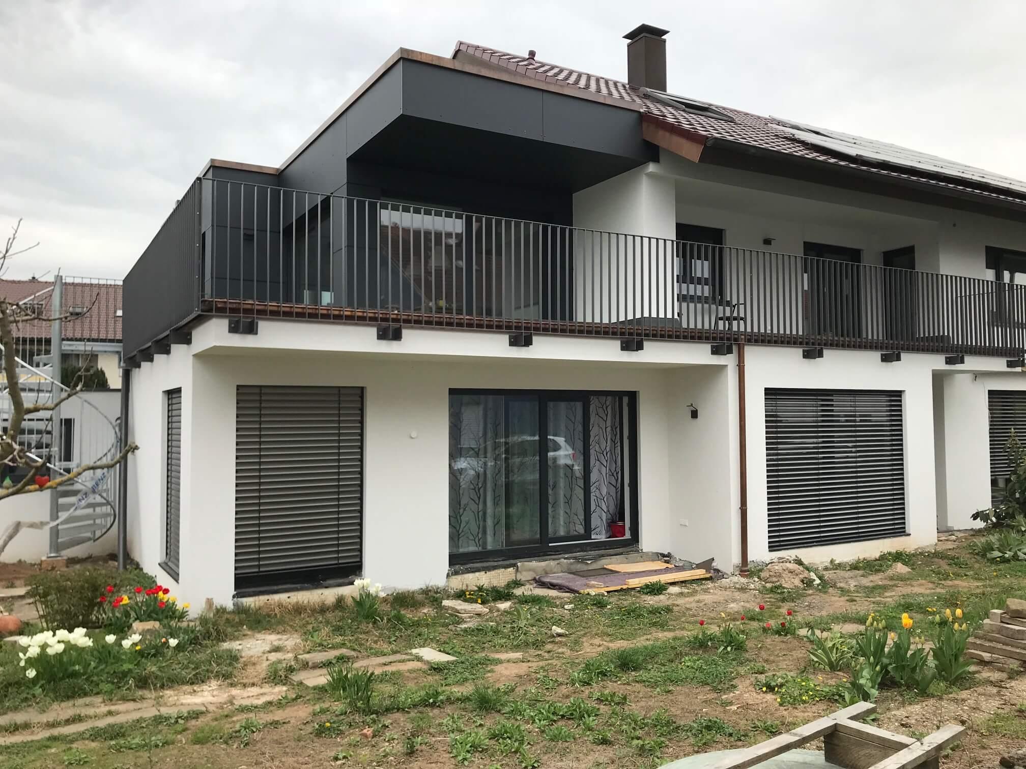 Montage Balkon Zirn Schlosserei Schad (11)