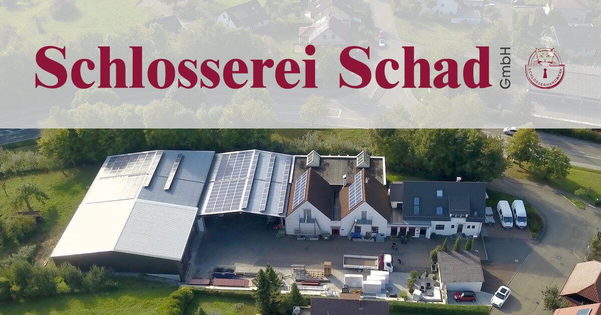 Schlosserei Schad GmbH. 74831 Gundelsheim-Böttingen, Alte Steige 2